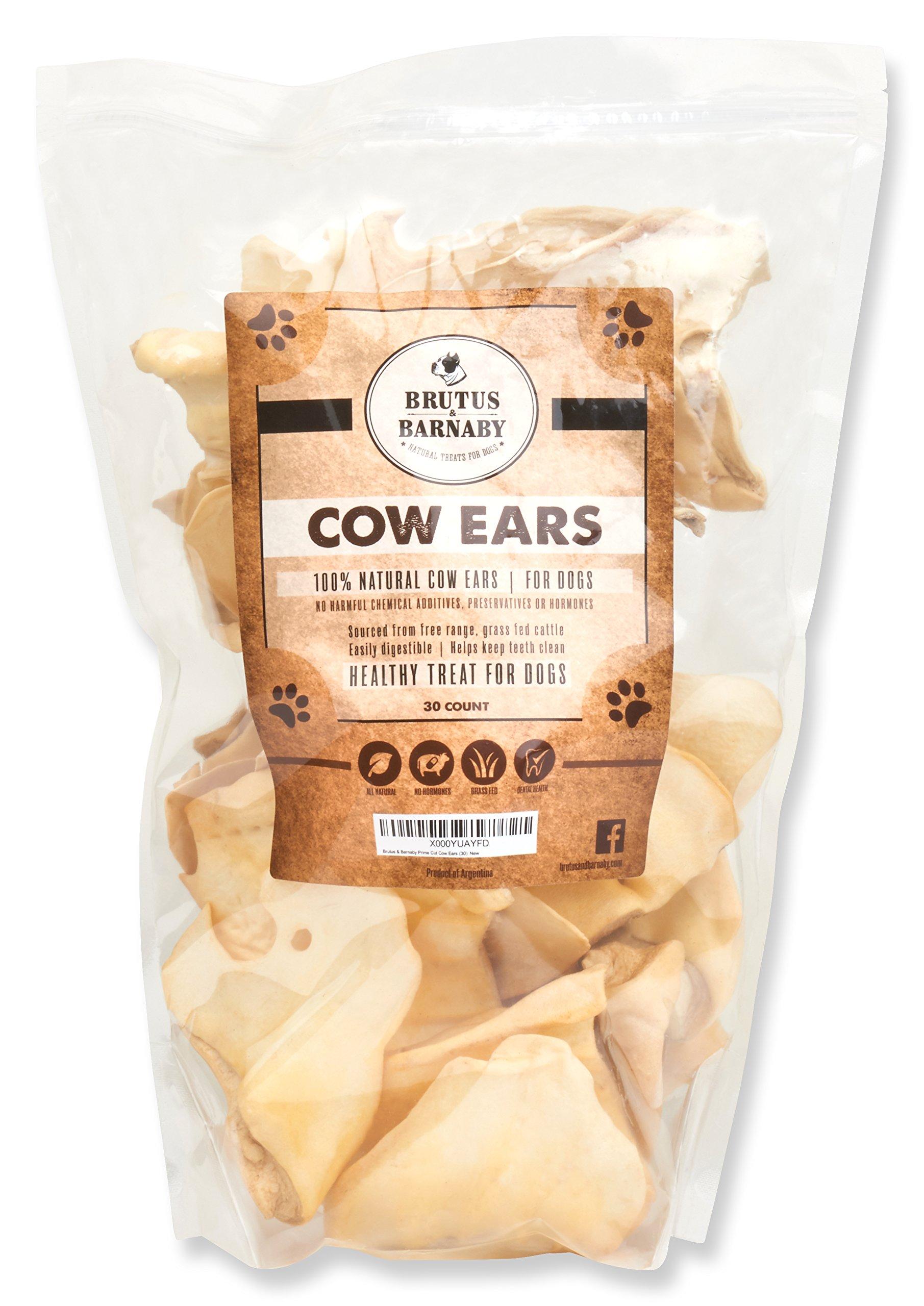 Brutus & Barnaby Prime Cut Cow Ears (30)