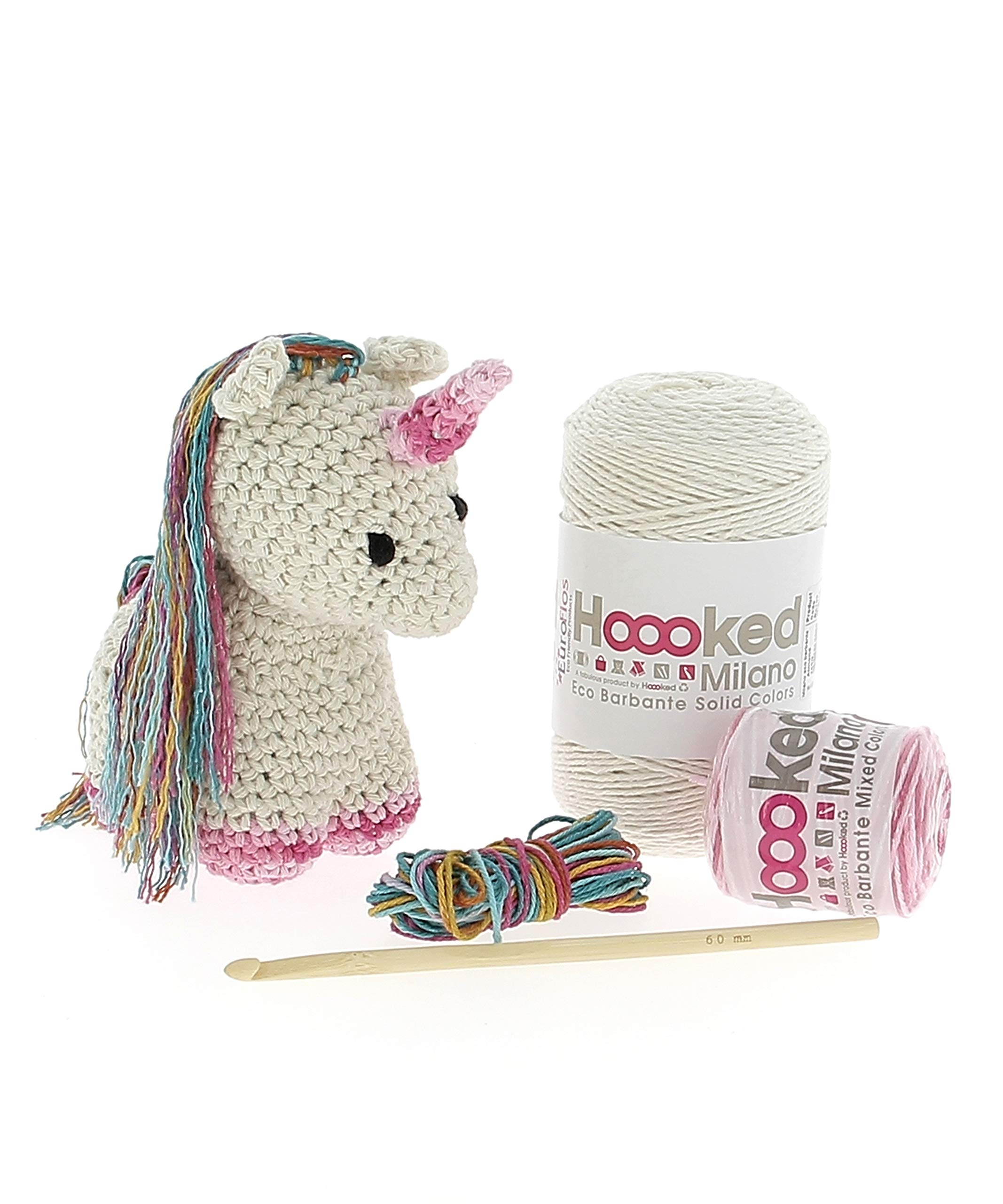 Hoooked Unicorn Yarn Crochet Kit Nora