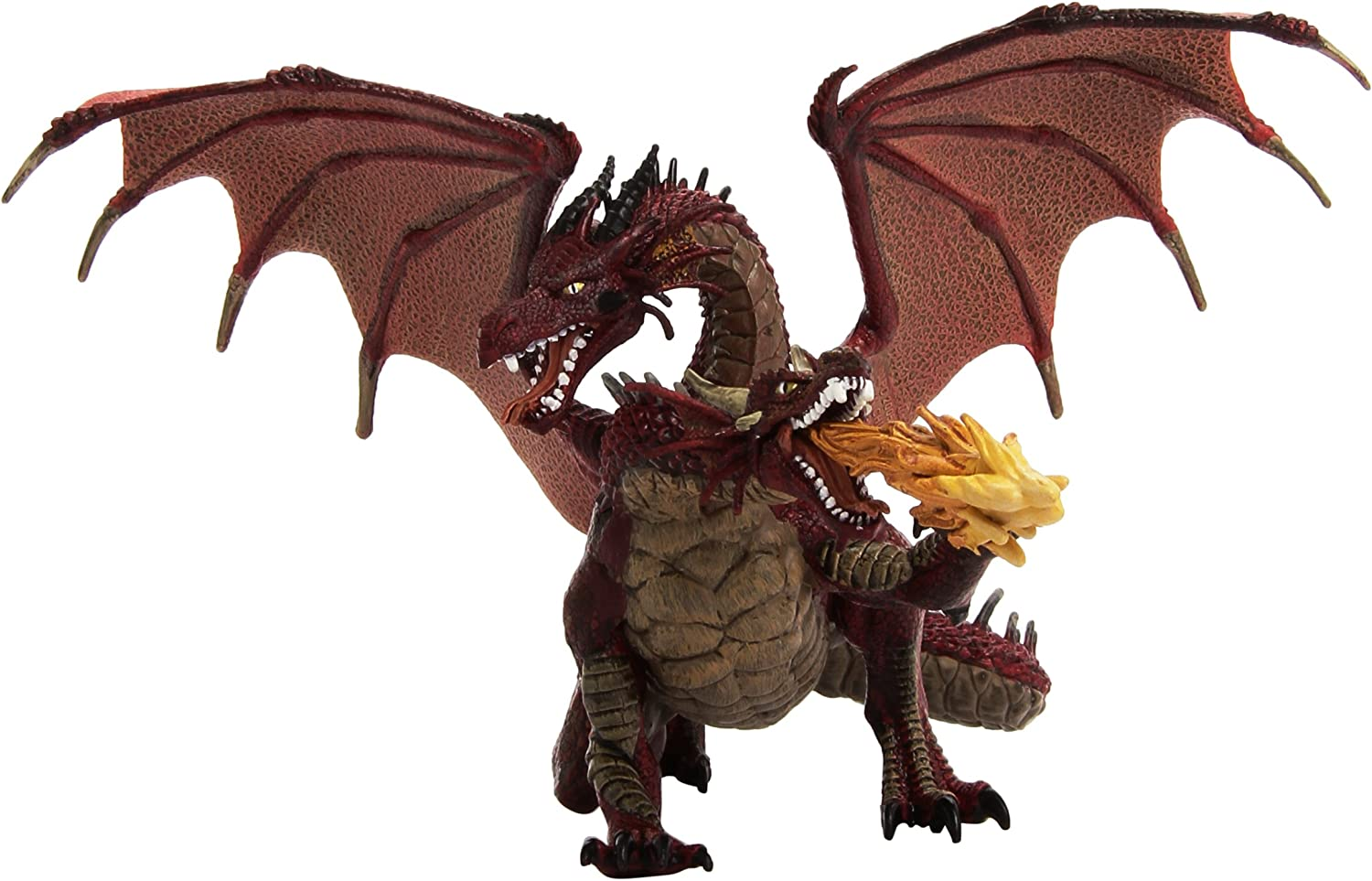 Amazon Com 2 Headed Dragon Red Toys Games