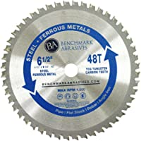 "6-1/2"" 48 Tooth TCT Saw Blade for Thin Steel & Ferrous Metals"