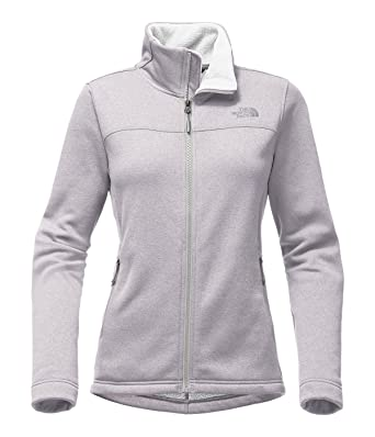 The North Face Women's Timber Full Zip TNF Light Grey Heather S