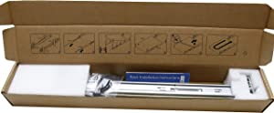 BestParts New 2U Sliding Ready Rail Kit Compatible with Dell Poweredge R520 R540 R720 R720XD R730 R740 R820 0PWN3 H4 X 6 in Box