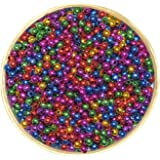 Asian Hobby Crafts Colourful Shining Beads - Round