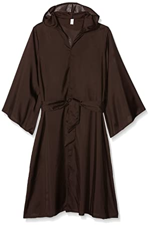 c3298bcc93 Childrens Monk Costume Robe and Hood - Brown  Amazon.co.uk  Toys   Games