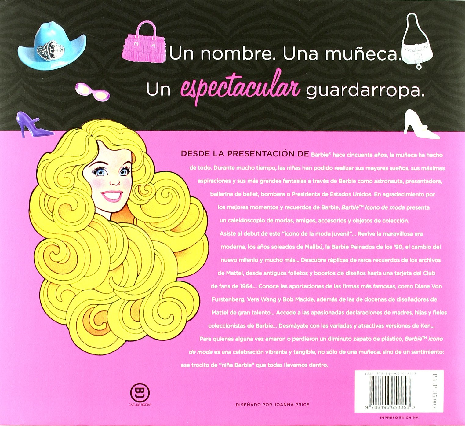 Barbie, icono de moda (Spanish Edition): Jennie Damato: 9788496650053: Amazon.com: Books