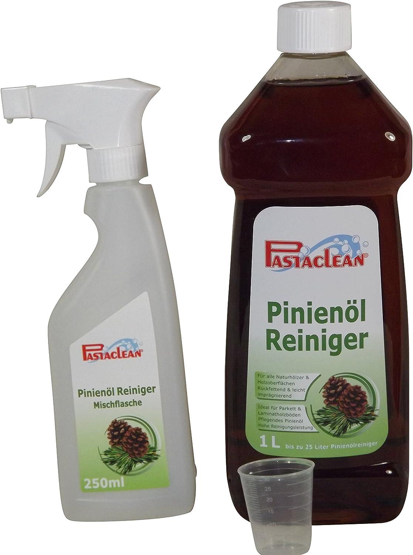 Pastaclean – Limpiador a base de aceite de pino, 1 litro de gel concentrado + pulverizador