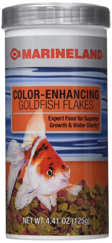 Amazon.com : Aquaria Food Color Enhancing Goldfish Flakes, 4.41 Oz ...