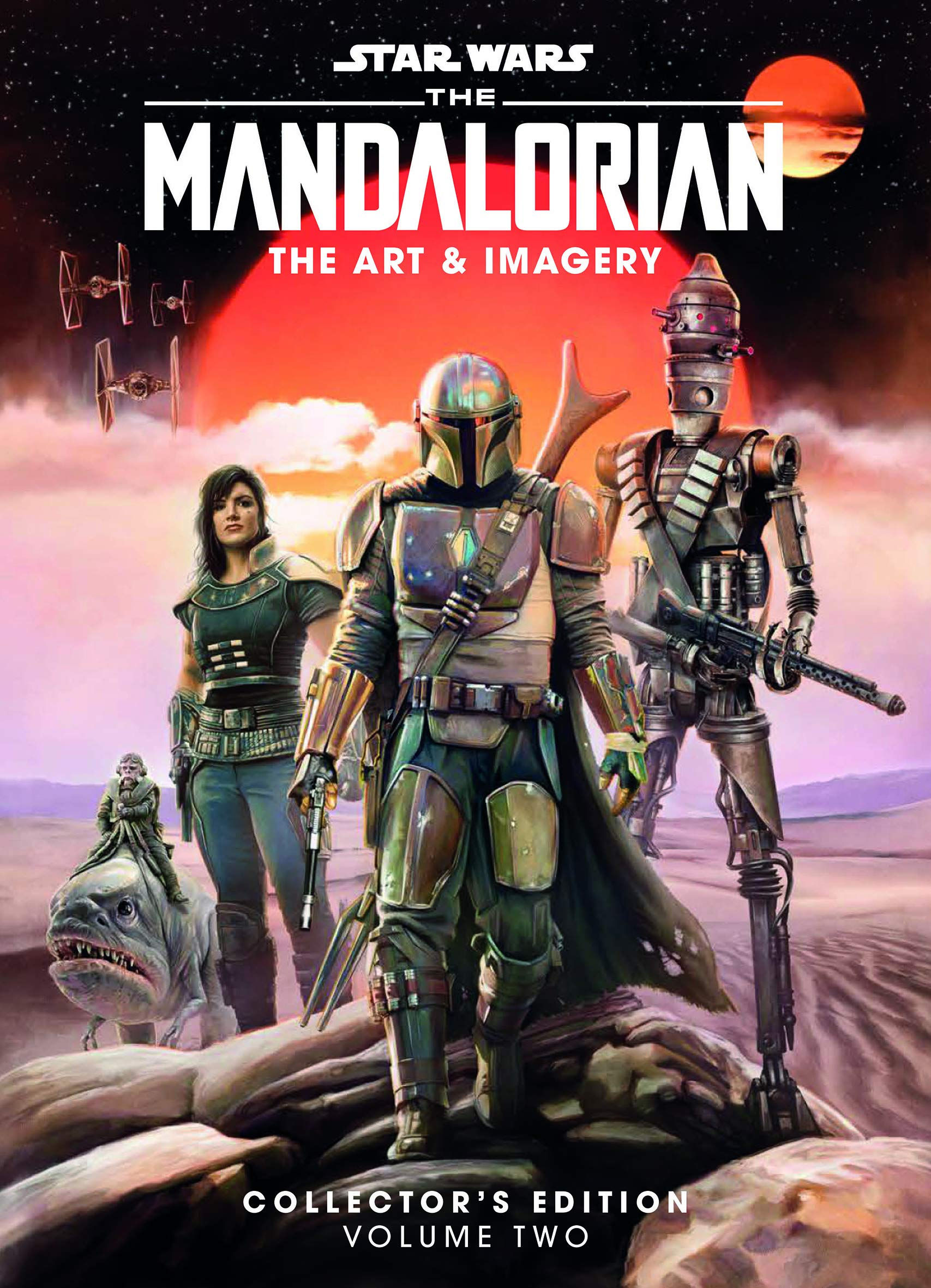 Amazon Com Star Wars The Mandalorian The Art Imagery Collector S Edition Vol 2 Star Wars Mandalorian 9781787735750 Titan Books