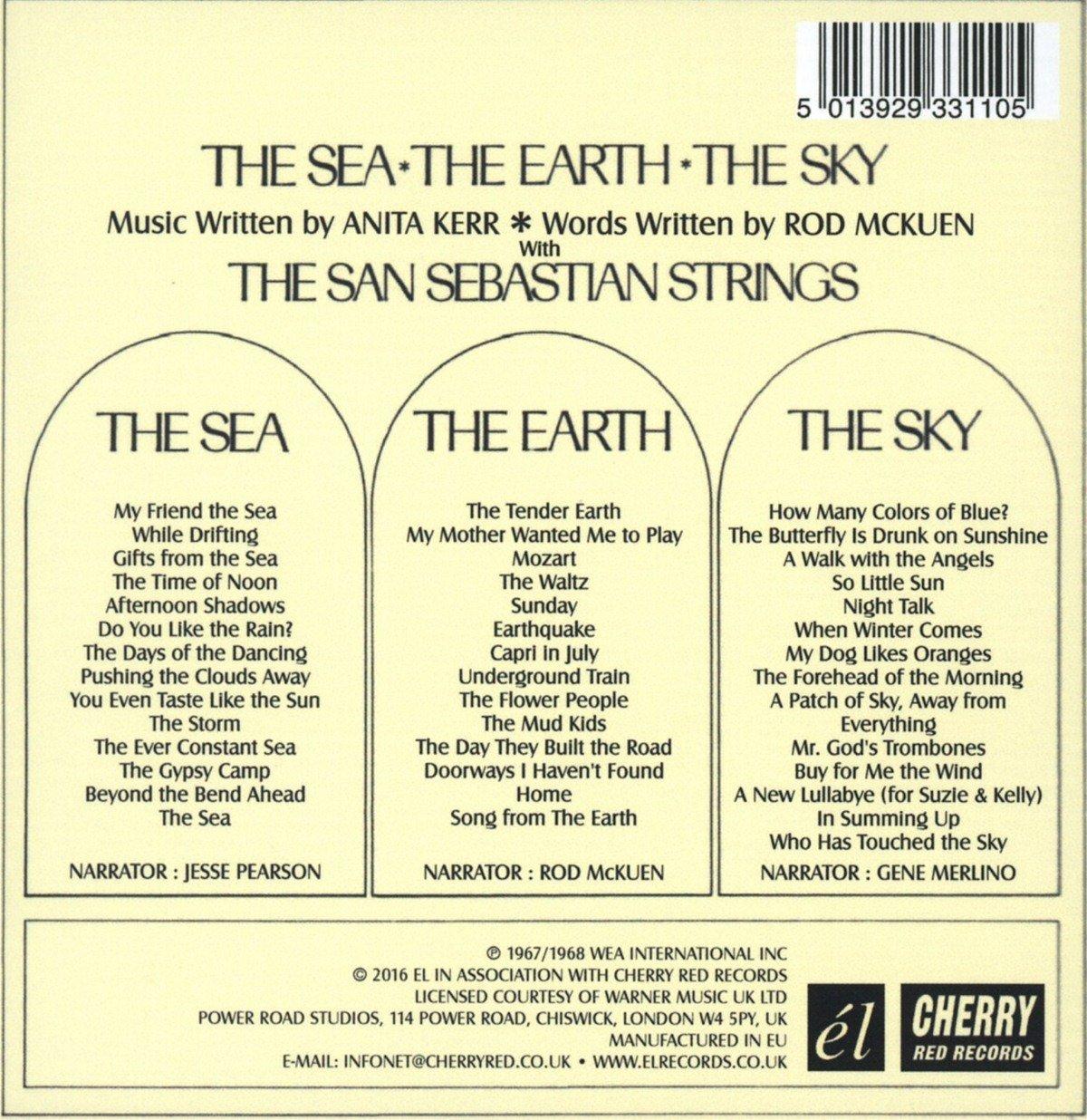 The Sea * The Earth * The Sky /  Rod Mckuen / Anita Kerr & The San Sebastian Strings by EL