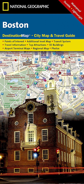 Boston (National Geographic Destination City Map): National ...