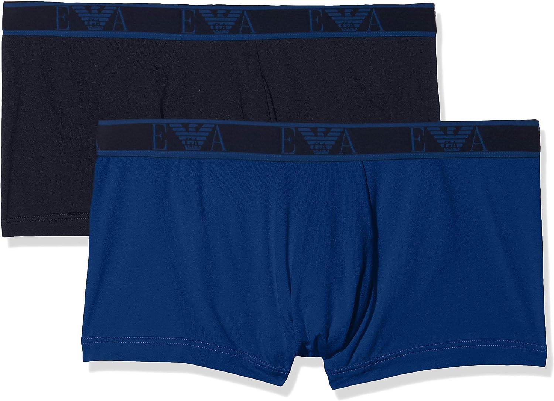 Emporio Armani Men's Monogram 2-Pack Trunk