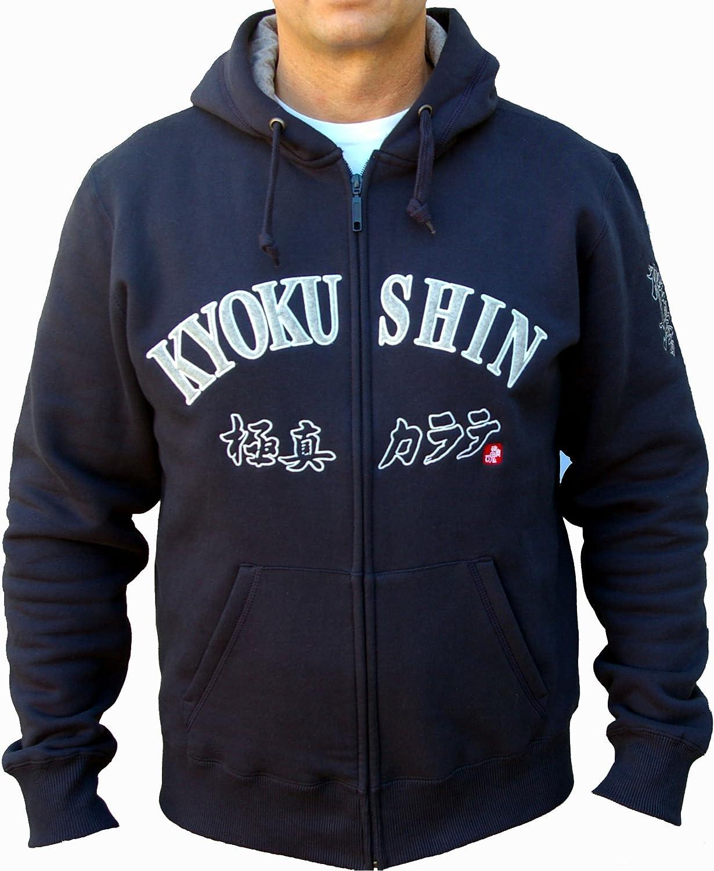 Kyokushin Karat/é Veste /à Capuche Oyama Le Japon Kyokushin Kai zipp/ée /à Capuche