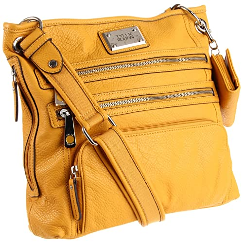 e3a71ae0689b Tyler Rodan Kingston Crossbody Bag Yellow  Amazon.ca  Shoes   Handbags