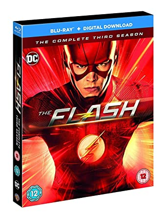 Flash Season 3 [Blu-ray] [2017]: Amazon co uk: Grant Gustin, Candice