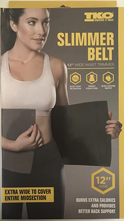 89ae6ca389 Slimmer Belt 12 Waist Trimmer  Amazon.ca  Sports   Outdoors