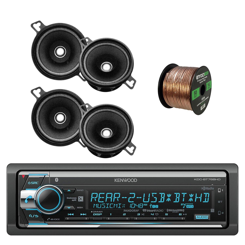 """Kenwood 3.5/"""" Round Speaker System 40W Max"""
