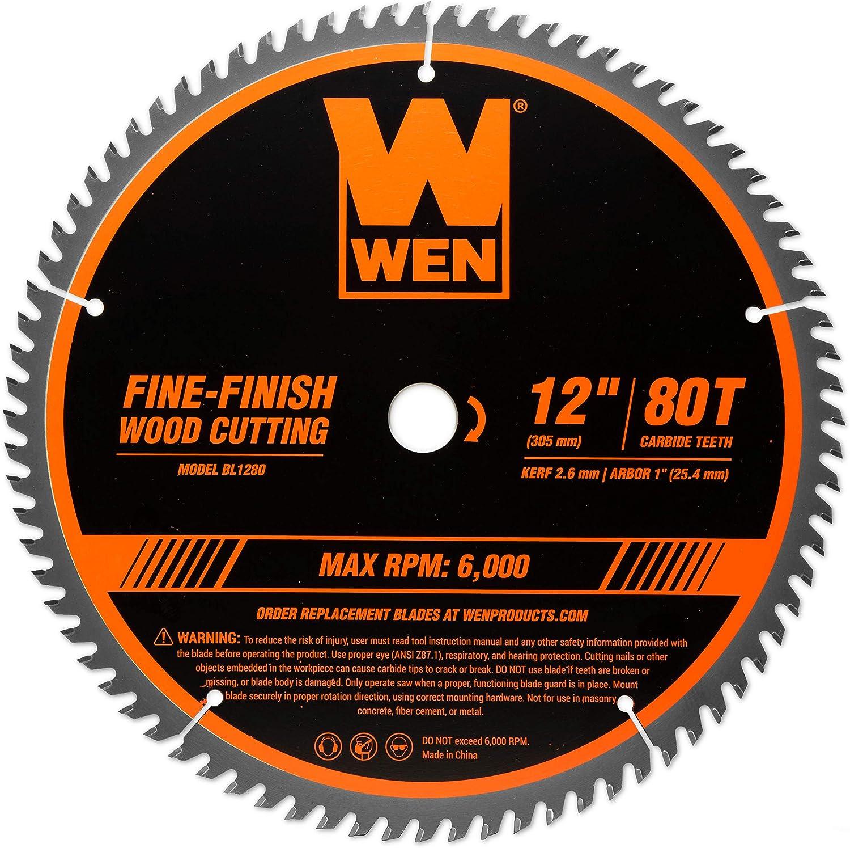 WEN 12-Inch Professional Woodworking Saw Blades