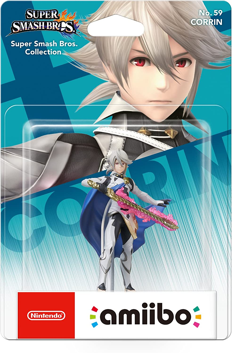 Nintendo - Amiibo Corrin (Colección Super Smash Bros): Amazon.es ...