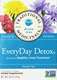 Traditional Medicinals Everyday Detox Herbal Wrapped Tea Bags - 16 ct - 2 pk