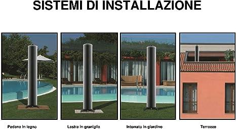 IDROSTILE GDO SERVICE Totem Panel Solar Térmico A Suelo sfrutta L ...