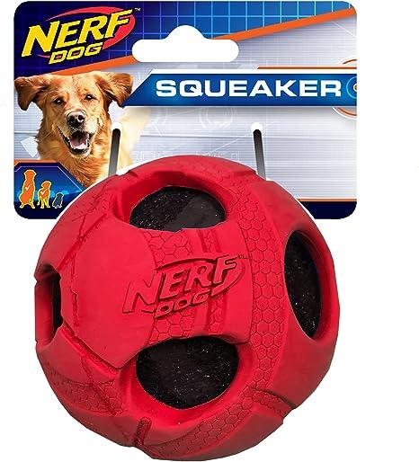 Nerf Juguete Perro Grande Bola Pelota Tenis de Golpe de Goma ...