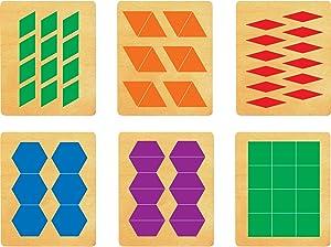 Ellison SureCut Dies Set 16703-LG, Pattern Blocks, Large