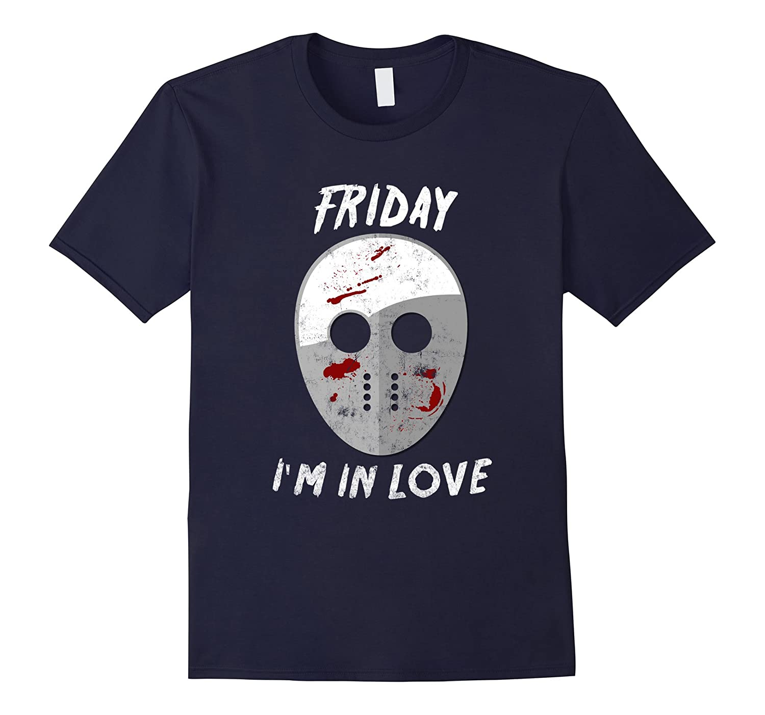 Friday I'm in Love Halloween Funny Mash Up T-Shirt-FL