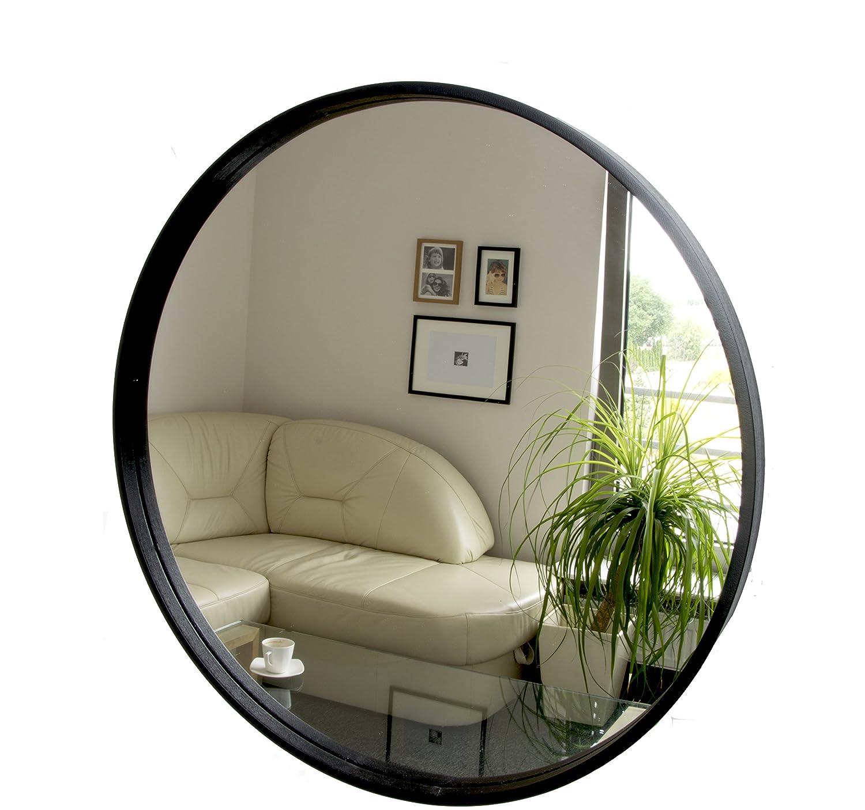 BD ART Black Framed Wall-Mounted Mirror, 49x67 cm