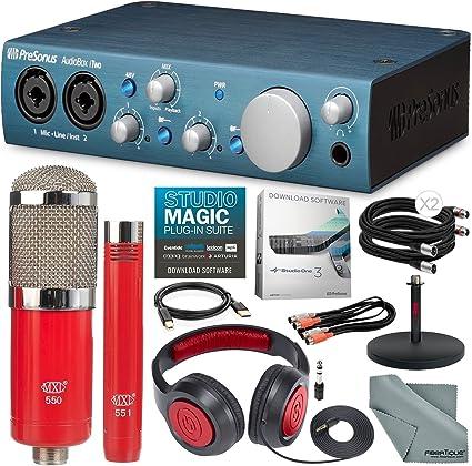 New PreSonus AudioBox iTwo 2x2 USB iPad//Mac//PC Interface includes Studio1 Artist