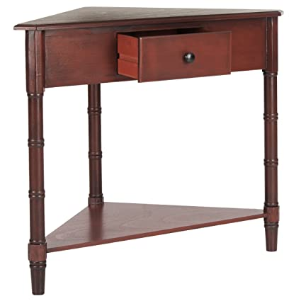 Merveilleux Safavieh American Homes Collection Gomez Red Gomez Corner Table