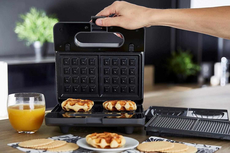 Senya Macchina croque-monsieur piastra per goffri gaufrette 3 in 1 Waffle Party