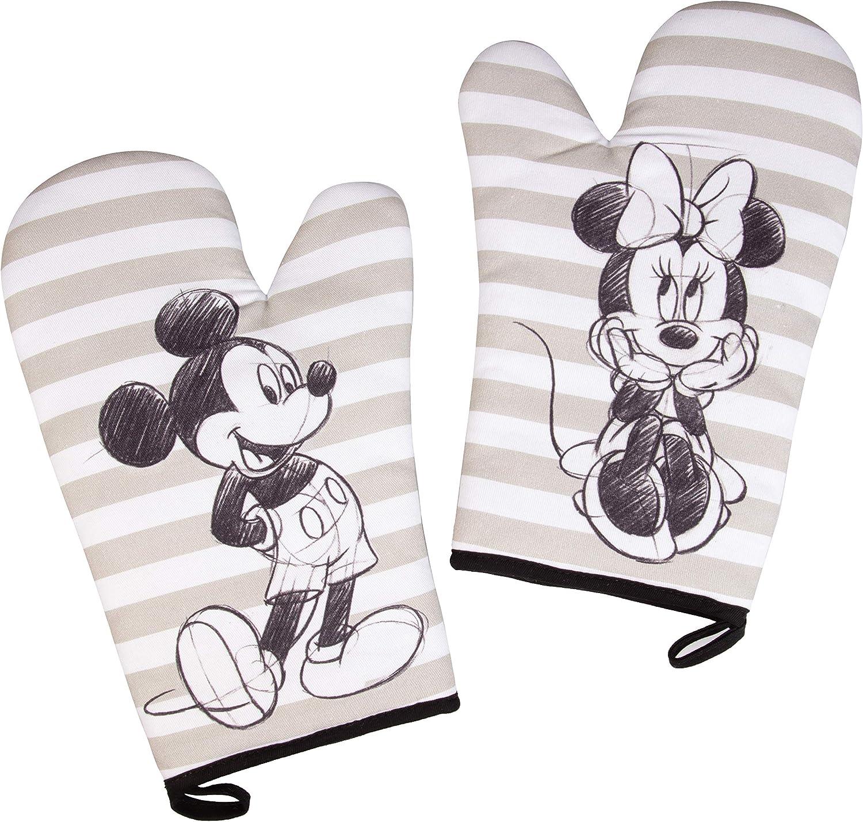 Disney MICKEY MOUSE Vampire Un-BOO-Lievable Halloween 2-Pack Mini Oven Mitt NEW!