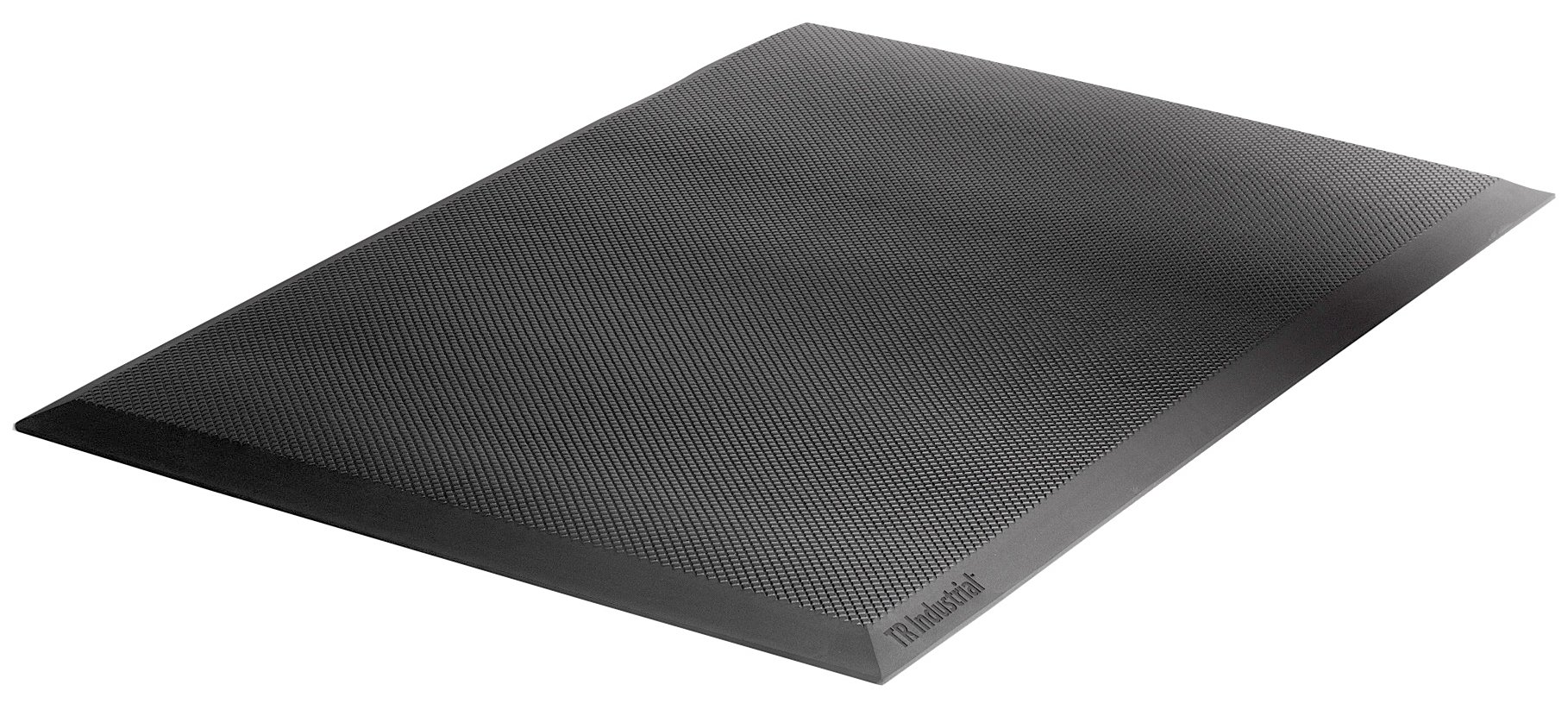 TR Industrial Anti-Fatigue Mat For Home, Office, and Kitchen Standing Relief, 23.25 inch x 34 inch x 3/4 inch, Black