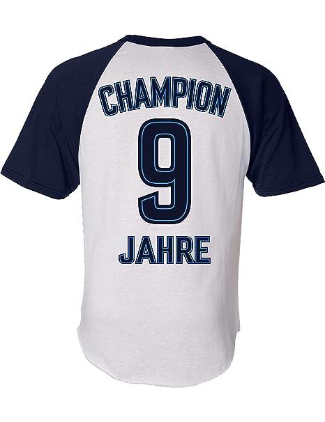 Geburtstags Shirt Champion 9 Jahre Sport Fussball Trikot Junge T Shirt Fur Jungen Geschenk Idee Zum 9 Geburtstag Neun Ter Jahrgang 2010
