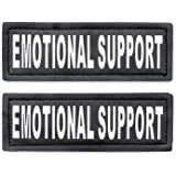 Service Dog in Training Patches, Hook Patches for Service Dog Vest - Service Dog, Emotional Support, in Training, Service Dog
