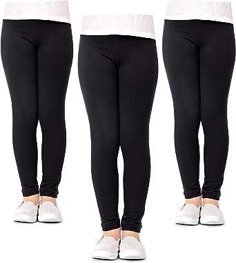 Girl Leggings Girls Bottoms Fun Leggings,Dance Legging Toddler Leggings Leggings for Girls Black Leggings for Girls Baby Girl Leggings
