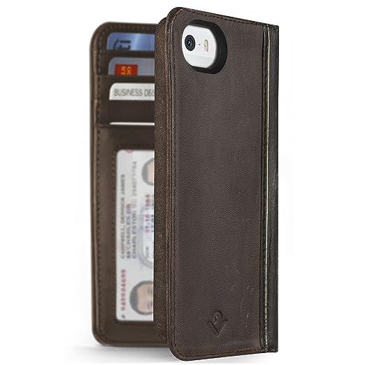 20 opinioni per Twelve South 12-1232 Bookbook Custodia a Portafoglio Protettiva per iPhone SE,