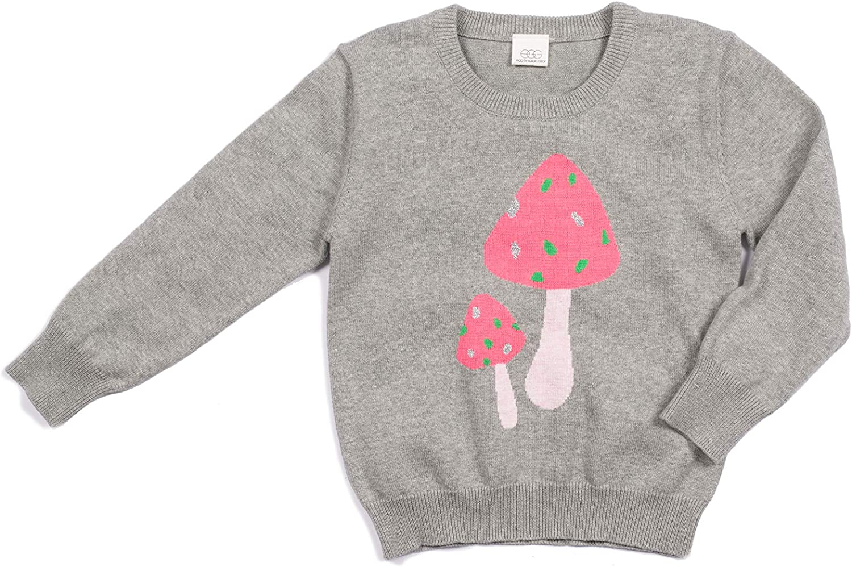12 Months EGG BABY Girls Lexi Sweater Grey