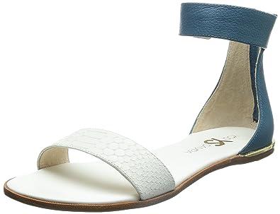 ba7ef51a6af0a Yosi Samra Women's Cambelle 3D Croco Leather Sandal