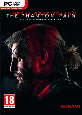 Image result for Metal Gear Solid V The Phantom Pain cover pc