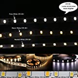 MARSWELL CRI 90+ LED Strip Lights Pure White SMD5630 Non-waterproof