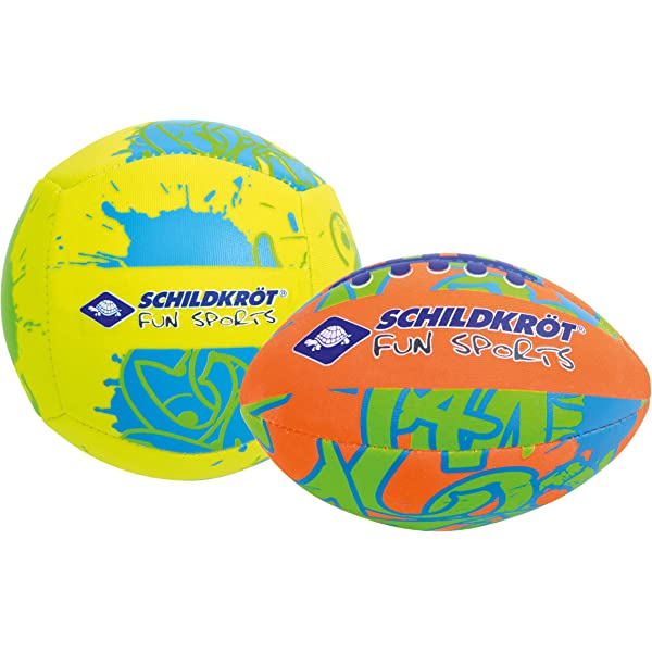 Schildkröt Funsports Pack de 2 Mini-Pelotas , 1 Pelota de Volley y ...