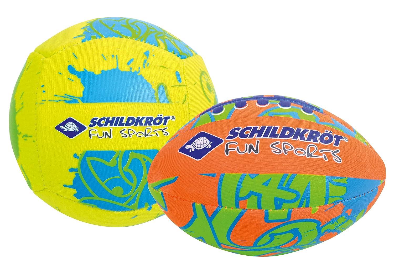 Schildkröt Fun Sports 970281 Set de Ballon Mixte Enfant, Multicolore,