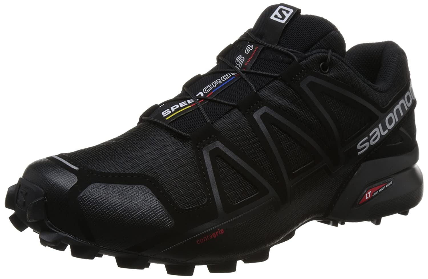 Salomon Men s Speedcross 4 (Wide Variant) Trail Running Shoes  Amazon.in   Sports ac5e7af3d54