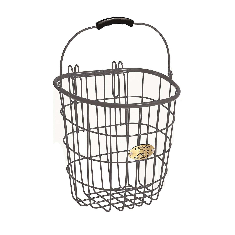 Amazon.com: Nantucket Bike Basket Co Surfside Rear Wire Pannier Bag ...