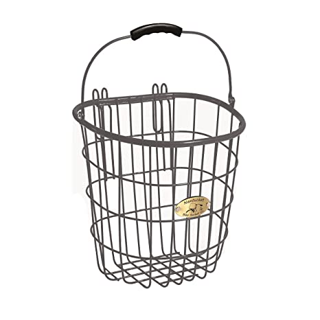 Amazon Com Nantucket Bike Basket Co Surfside Rear Wire Pannier Bag
