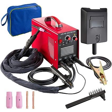Arebos Soldadura Tig 180/Wig sudor dispositivo/10 – 180 A/HF de