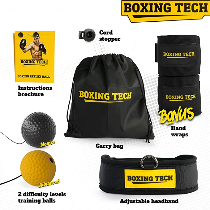 Boxing Tech Reaction Ball