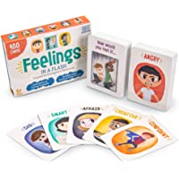 Brybelly Feelings in a Flash - Emotional Intelligence Flashcard Game - Toddlers & Special Needs Children - Teaching…