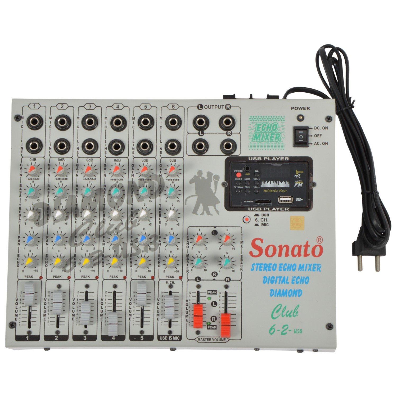 Sonato Club 62 Mixer Musical Instruments Basic Controls Of A Cro